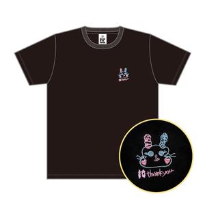 Ten-shirt ブラック